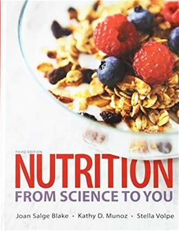 Nutrition: From Science to You; Modified MasteringNutrition with MyDietAnalysis with Pearson eText -- ValuePack Access Card -- for Nutrition: From ... 2015 Dietary Guidelines Update (3rd Edition) 1st 9780134528205