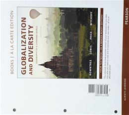 Globalization and Diversity: Geography of a Changing World, Books a la Carte Edition; Modified MasteringGeography with Pearson eText -- ValuePack ... Geography of a Changing World (5th Edition) 1st 9780134579573