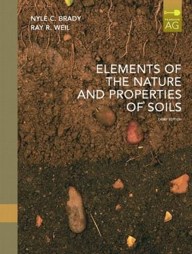 Elements of the Nature and Properties of Soils (3rd Edition) 9780135014332