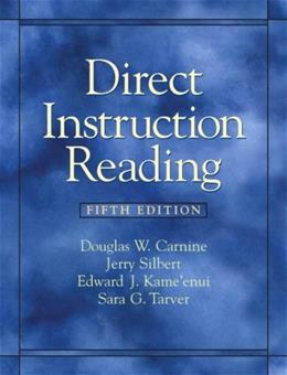 Direct Instruction Reading (5th Edition) 9780135020852