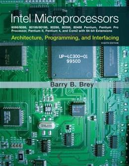 The Intel Microprocessors (8th Edition) 9780135026458