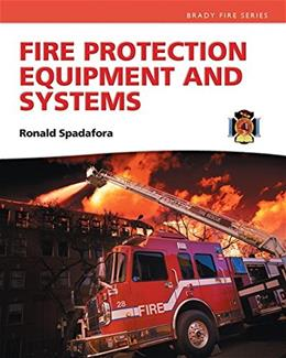 Fire Protection Equipment and Systems, by Spadafora 9780135028285