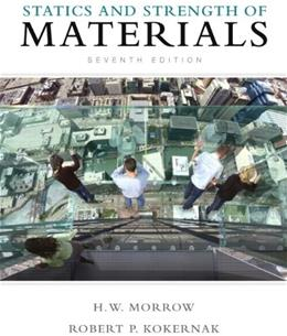 Statics and Strength of Materials (7th Edition) 7 w/CD 9780135034521