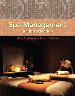 Spa Management: An Introduction, by Wisnom 9780135039441