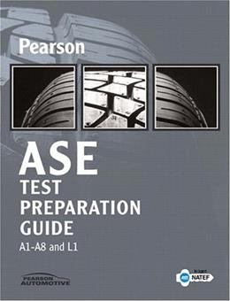 Pearson MOTOR Automotive Service Excellence Test Prep Guide, by MOTOR 9780135040256