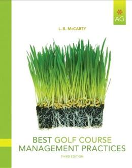 Best Golf Course Management Practices, by McCarty, 3rd Edition 3 PKG 9780135047095