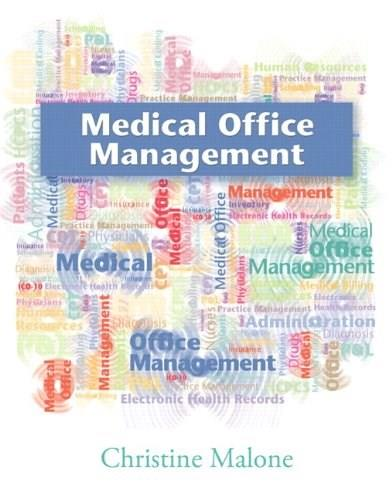 Medical Office Management, by Malone 9780135060674