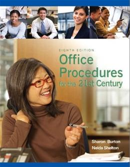 Office Procedures for the 21st Century 8 9780135063897