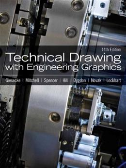 Technical Drawing with Engineering Graphics (14th Edition) 9780135090497