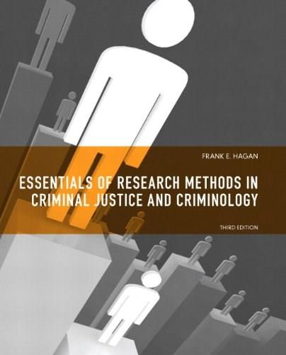 Essentials of Research Methods for Criminal Justice (3rd Edition) 9780135121009