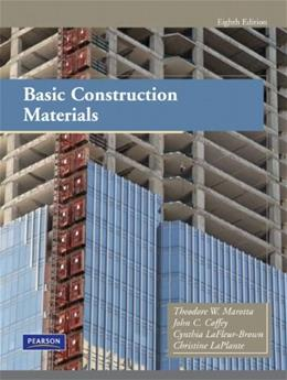 Basic Construction Materials (8th Edition) (Pearson Construction Technology) 9780135129692