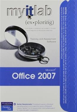 Myitlab for Exploring Office 2007, by Prentice Hall, ACCESS CODE ONLY PKG 9780135132777