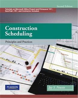 Construction Scheduling: Principles and Practices (2nd Edition) 2 w/CD 9780135137826