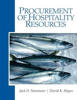 Procurement of Hospitality Resources, by Hayes 9780135148419