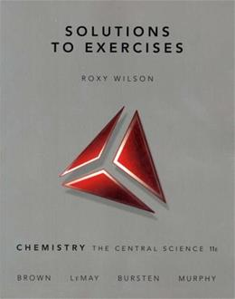 Chemistry: The Central Science, by Wilson, 11th Edition, Solution Manual 9780136003250