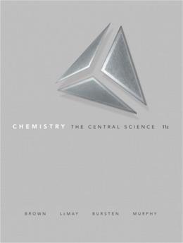 Chemistry: The Central Science (11th Edition) 9780136006176