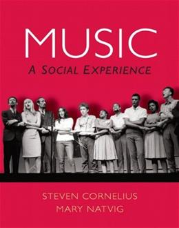 Music: A Social Experience, by Cornelius 9780136017509