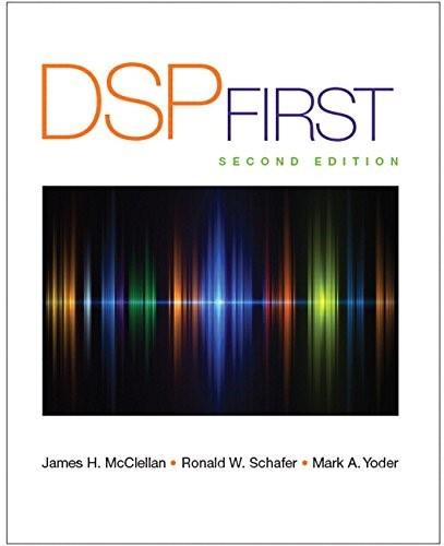 DSP First (2nd Edition) 9780136019251