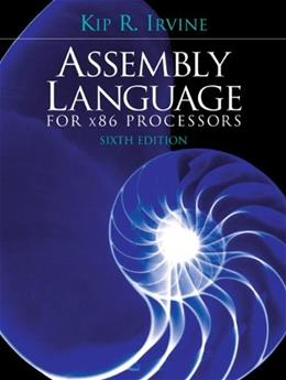 Assembly Language for x86 Processors (6th Edition) 6 PKG 9780136022121