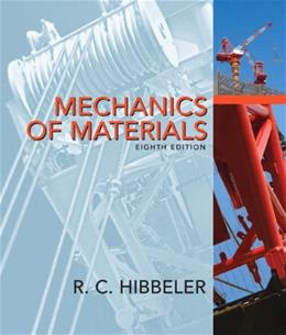 Mechanics of Materials, 8th Edition 8 PKG 9780136022305
