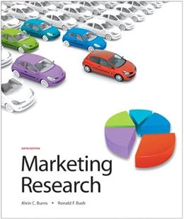 Marketing Research (6th Edition) 9780136027041