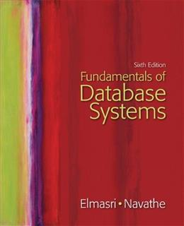 Fundamentals of Database Systems 6 PKG 9780136086208