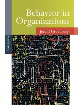 Behavior in Organizations (10th Edition) 9780136090199