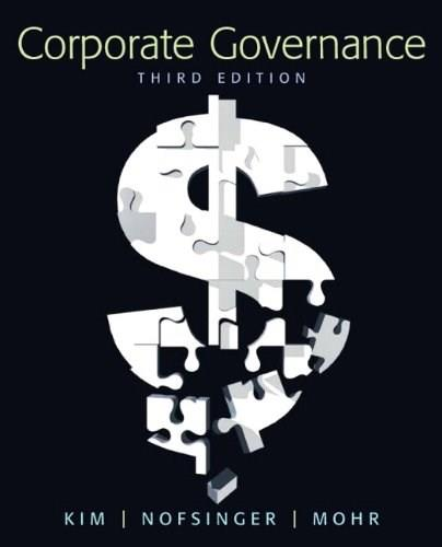 Corporate Governance (3rd Edition) 9780136096986