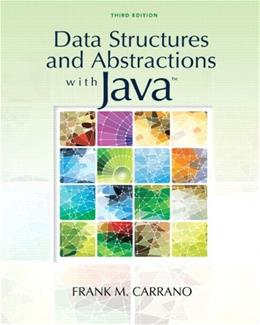 Data Structures and Abstractions with Java (3rd Edition) 3 PKG 9780136100911