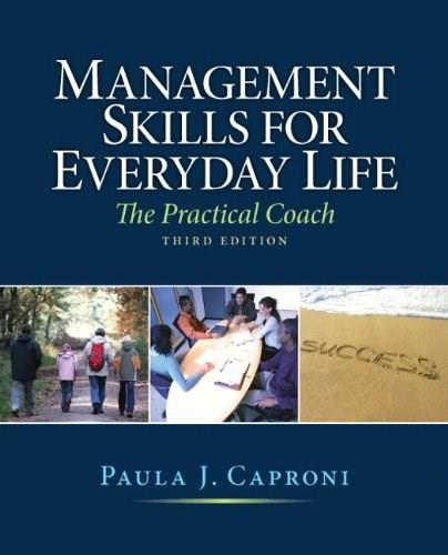 Management Skills for Everyday Life (3rd Edition) 9780136109662