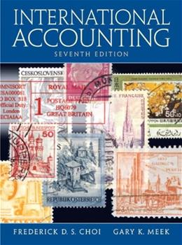 International Accounting (7th Edition) 9780136111474