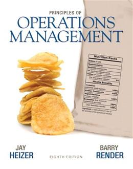 Principles of Operations Management (8th Edition) 9780136114468