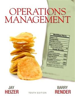 Operations Management (10th Edition) 9780136119418