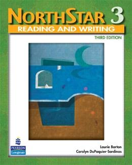 NorthStar 3: Reading and Writing, by Haugnes, 3rd Edition, Worktext 9780136133681