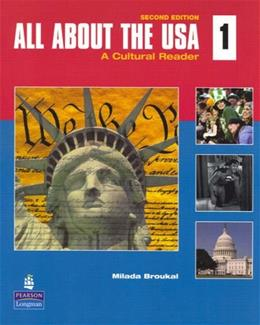 All About the USA: A Cultural Reader, by Broukal, 2nd Edition 2 w/CD 9780136138921