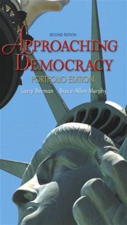 Approaching Democracy, by Berman, 2nd Portfolio Edition 9780136140085