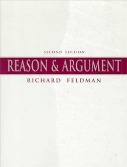 Reason and Argument, by Feldman, 2nd Edition 9780136246022