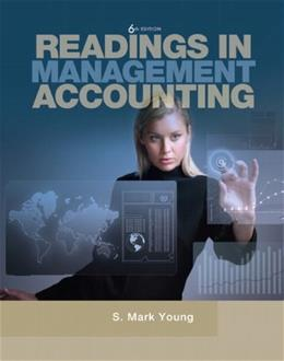 Readings in Management Accounting, by Young, 6th Edition 9780137025039