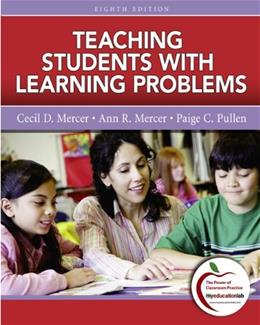 Teaching Students with Learning Problems (8th Edition) 9780137033782