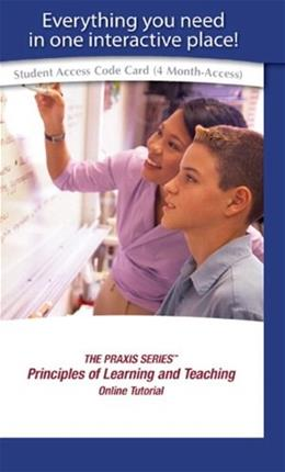 Principles of Learning and Teaching, by Educational Testing Service, ACCESS CODE ONLY PKG 9780137050260
