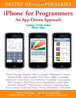 iPhone for Programmers: An App-Driven Approach, by Deitel 9780137058426