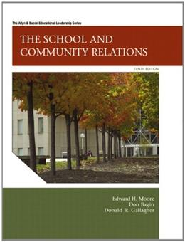 The School and Community Relations, 10th Edition 9780137072514
