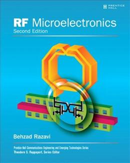 RF Microelectronics, by Razavi, 2nd Edition 9780137134731
