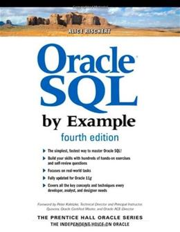 Oracle SQL by Example, by Rischert, 4th Edition 9780137142835
