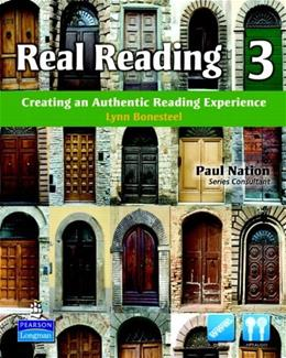 Real Reading 3: Creating an Authentic Reading Experience, by Bonesteel BK w/CD 9780137144433