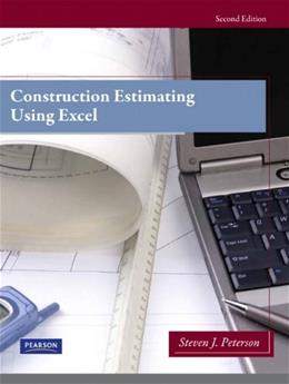 Construction Estimating Using Excel (2nd Edition) 2 PKG 9780138007195