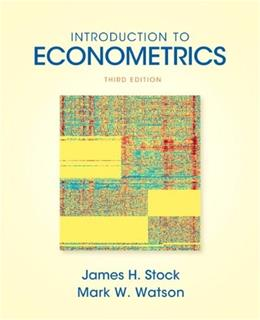 Introduction to Econometrics (3rd Edition) (Addison-wesley Series in Economics) 9780138009007