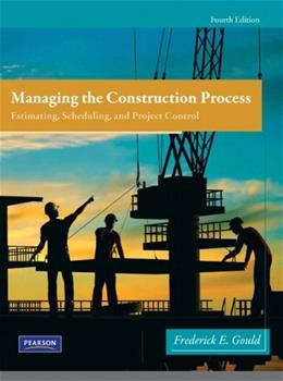 Managing the Construction Process (4th Edition) 9780138135966
