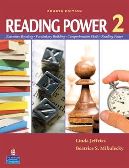Reading Power 2., by Jeffries, 4th Edition 9780138143886