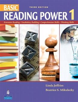 Basic Reading Power 1, by Jeffries, 3rd Edition 9780138143893